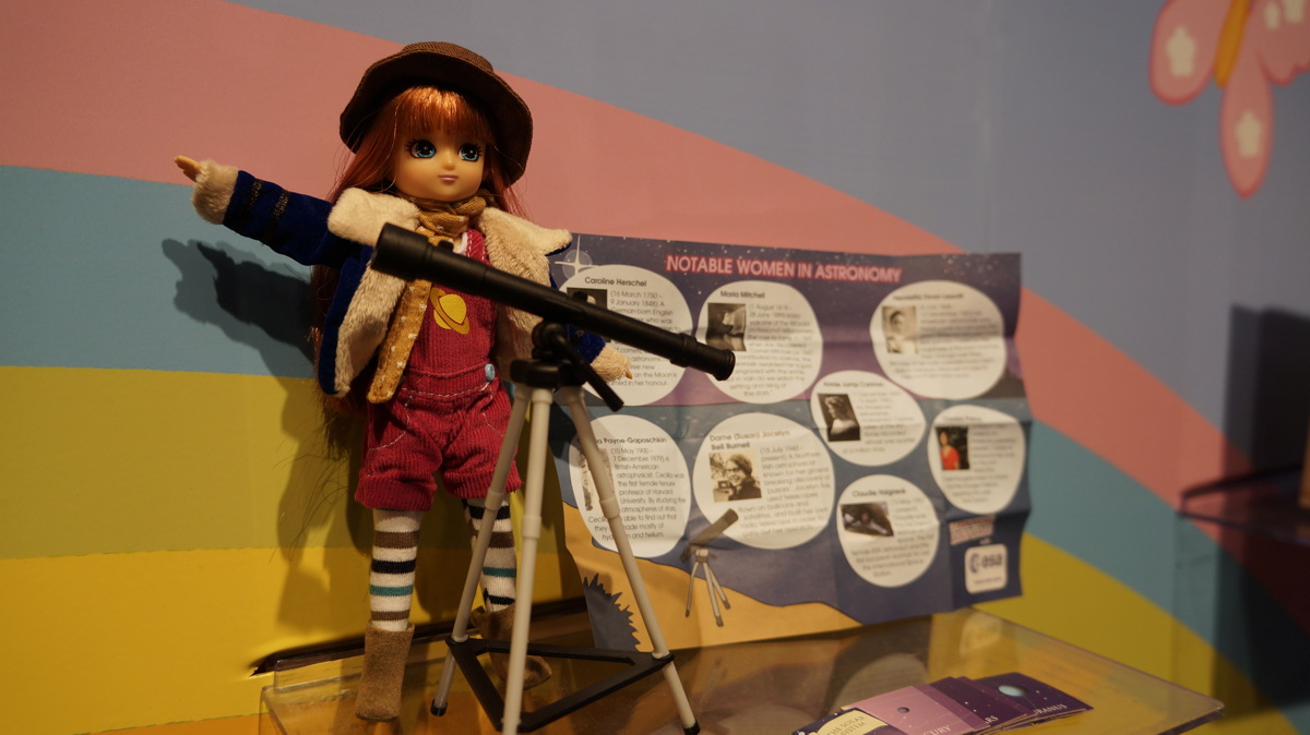Stargazer Lottie Doll Brings Real Astronomy Down to Earth