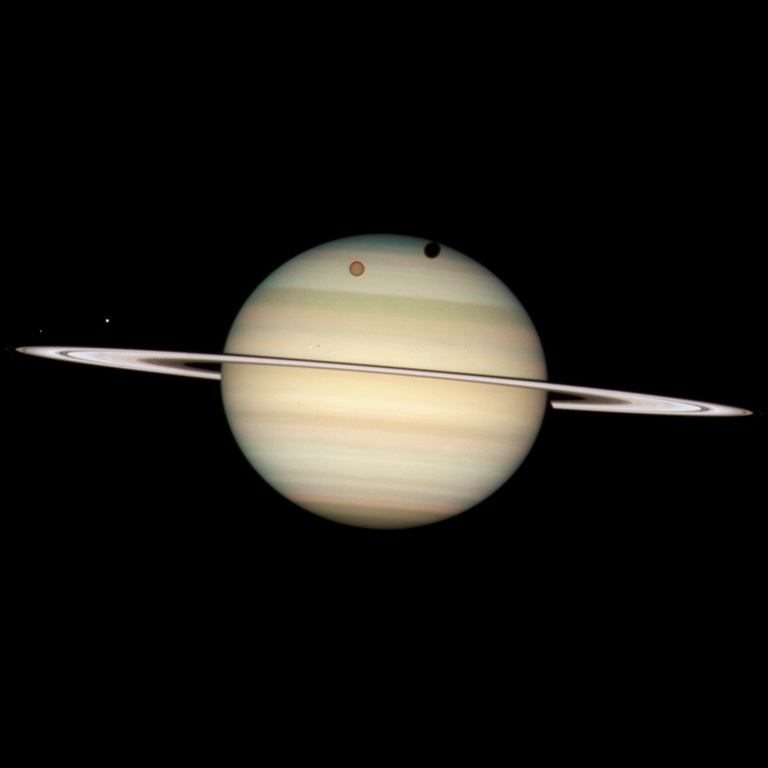 2009: Saturn Quadruple Moon Transit