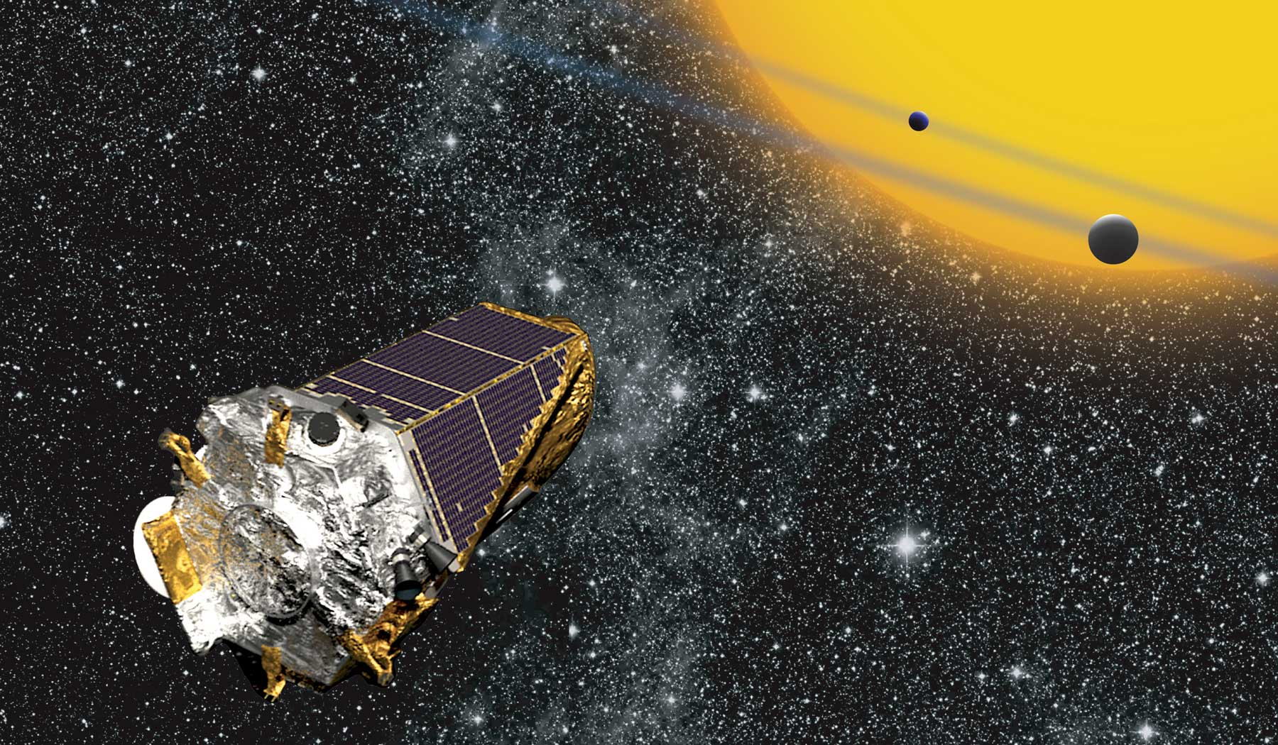 Happy Birthday, Kepler! NASA Planet Hunter Marks 6 Years in Space