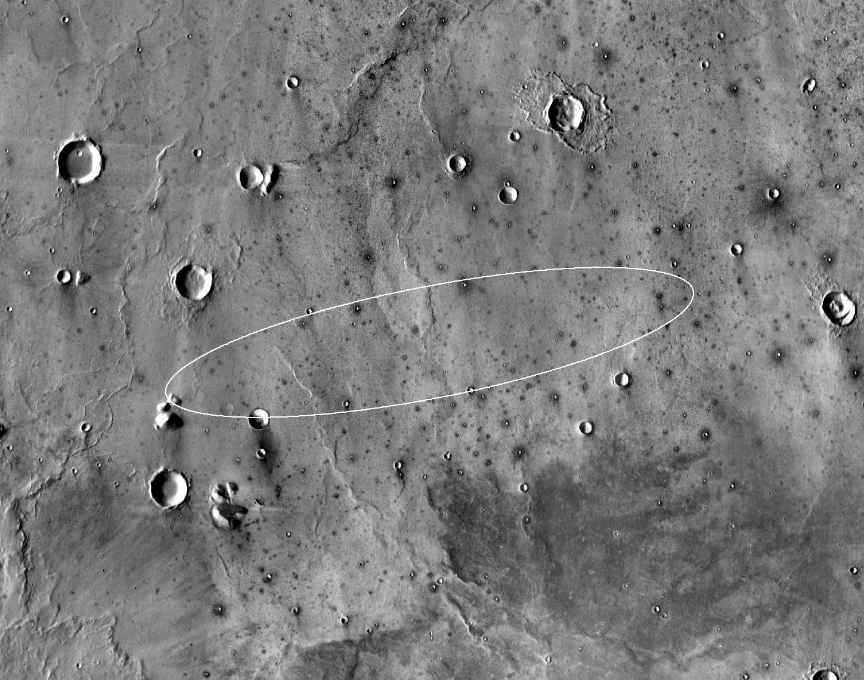NASA Eyeing Landing Site for 2016 Mars Mission