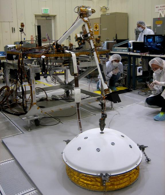 robotic mars mission 2018 - photo #22