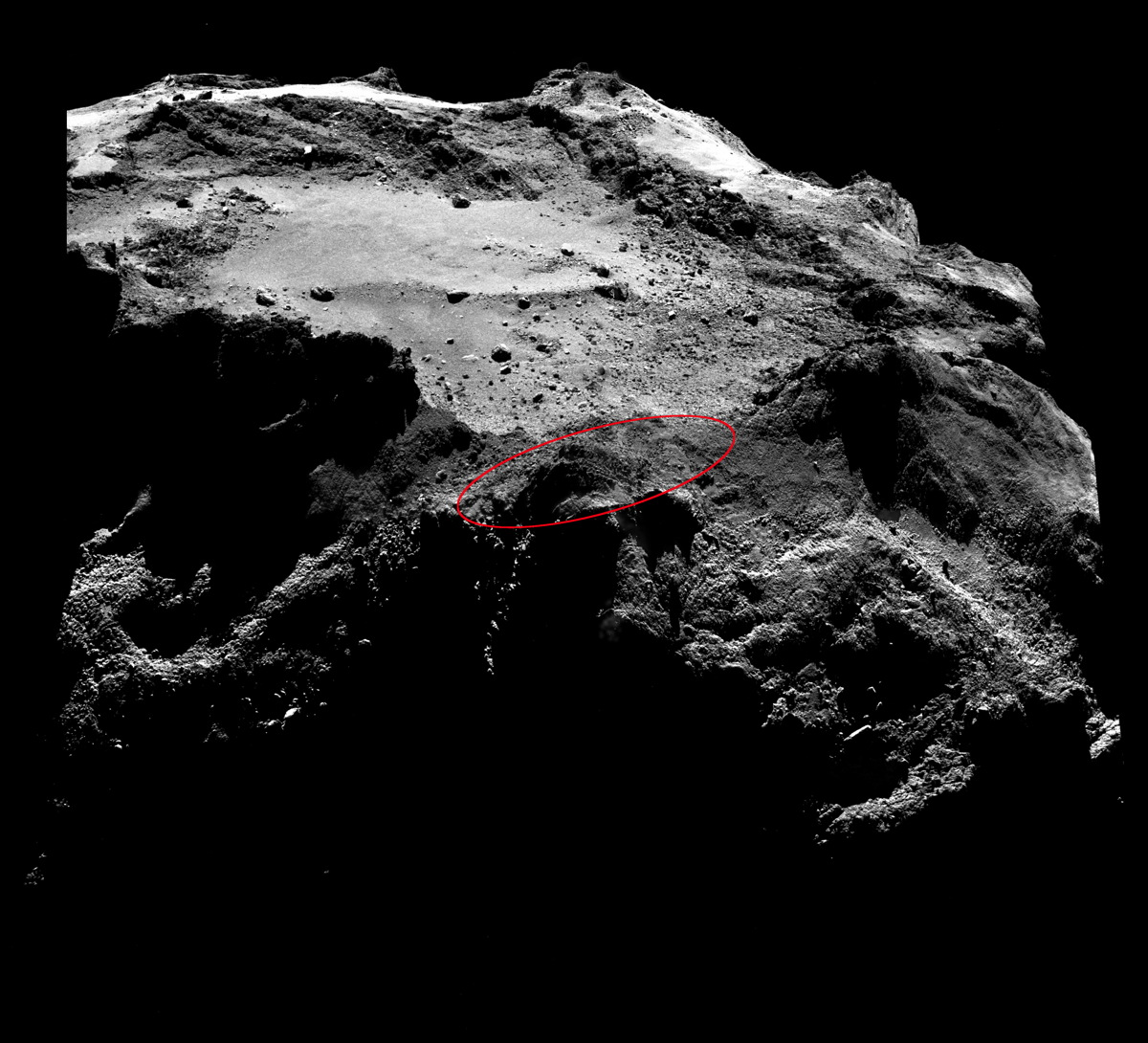 stable on philae comet lander - photo #27