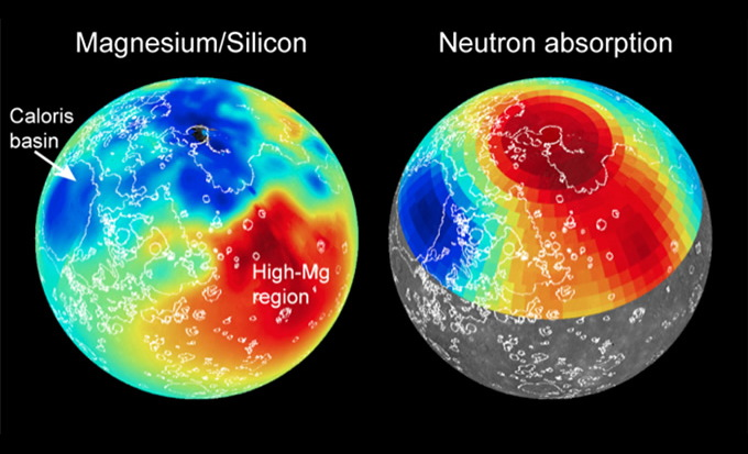 Mercury's Odd Surface Features Mapped by NASA Spacecraft