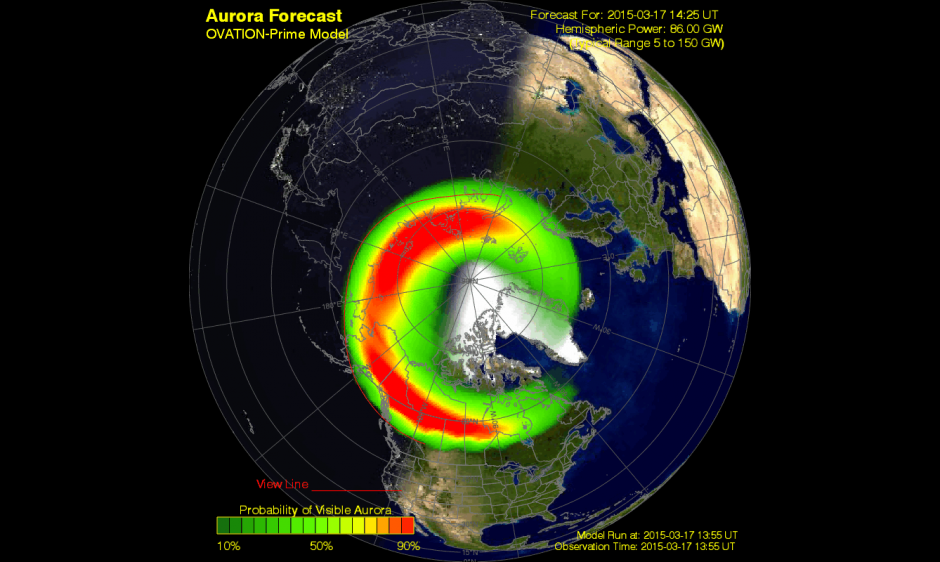 St. Patrick's Day Solar Storm Bombards Earth, Sparks Auroras
