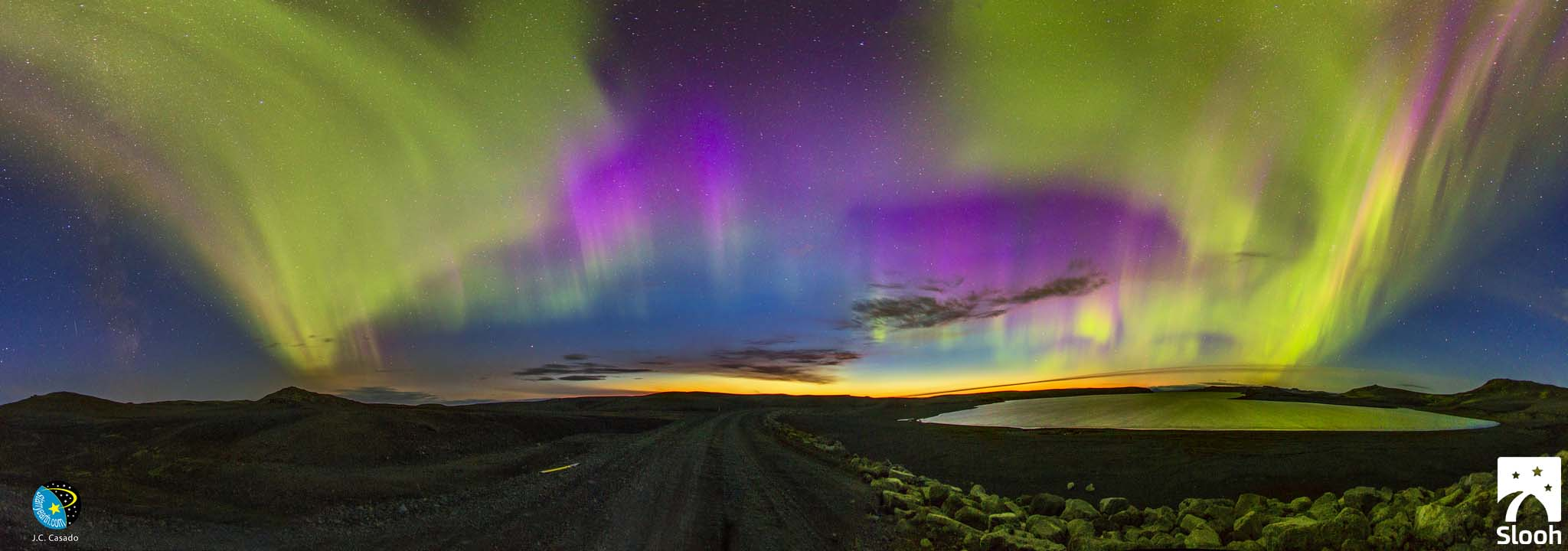 Slooh Aurora View