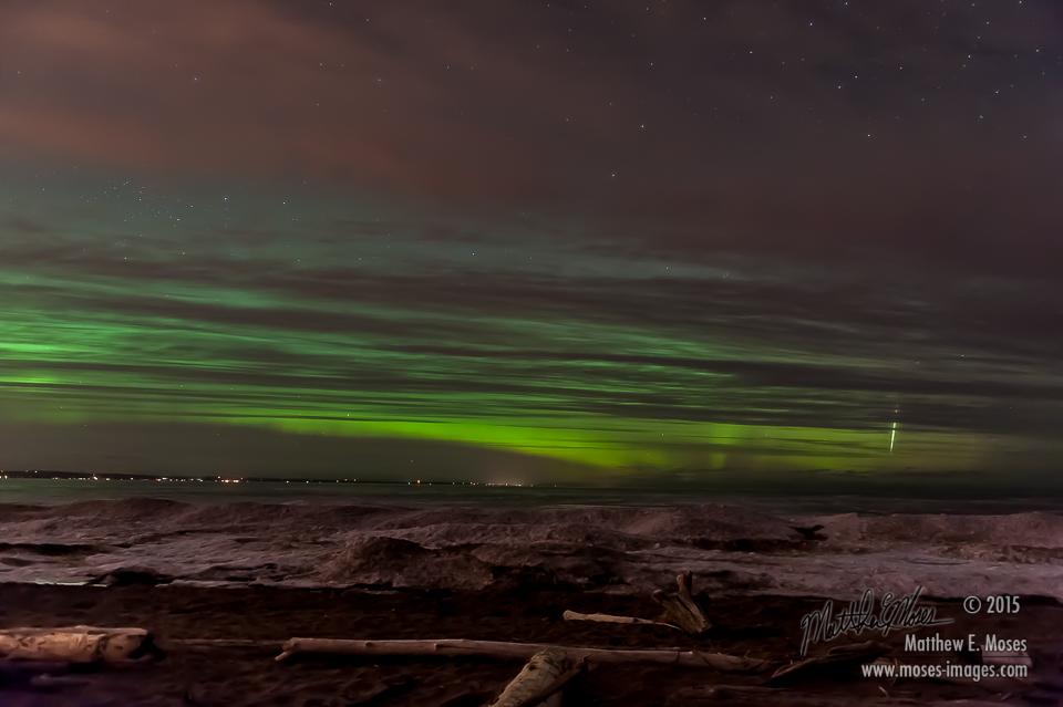 Aurora Over Lake Superior