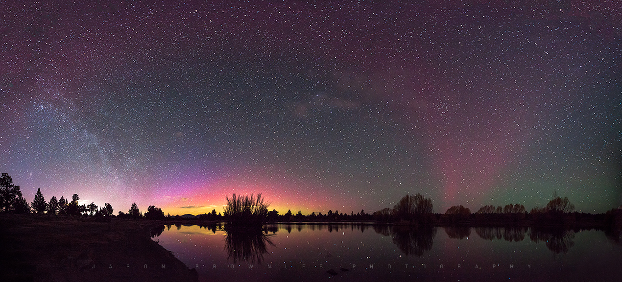 Aurora Over Bend, Oregon