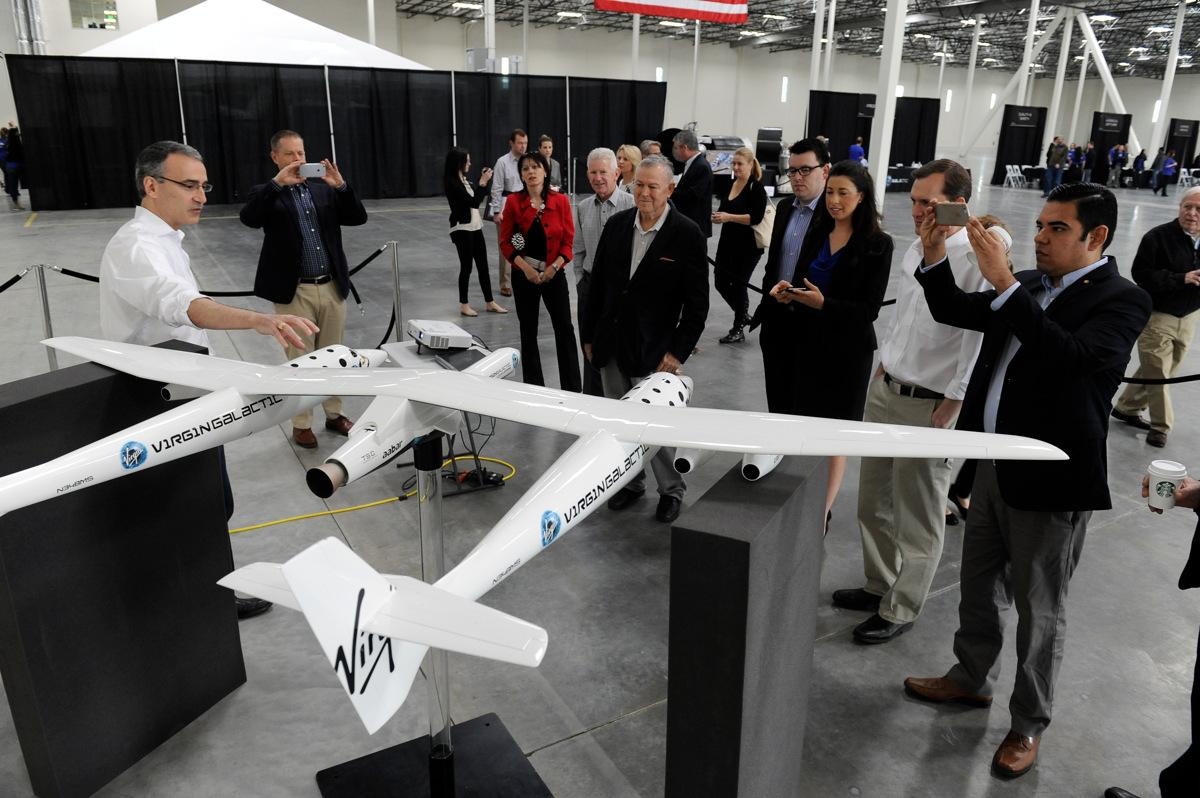 Virgin Galactic Opens Rocket Plant to Build Satellite Launchers