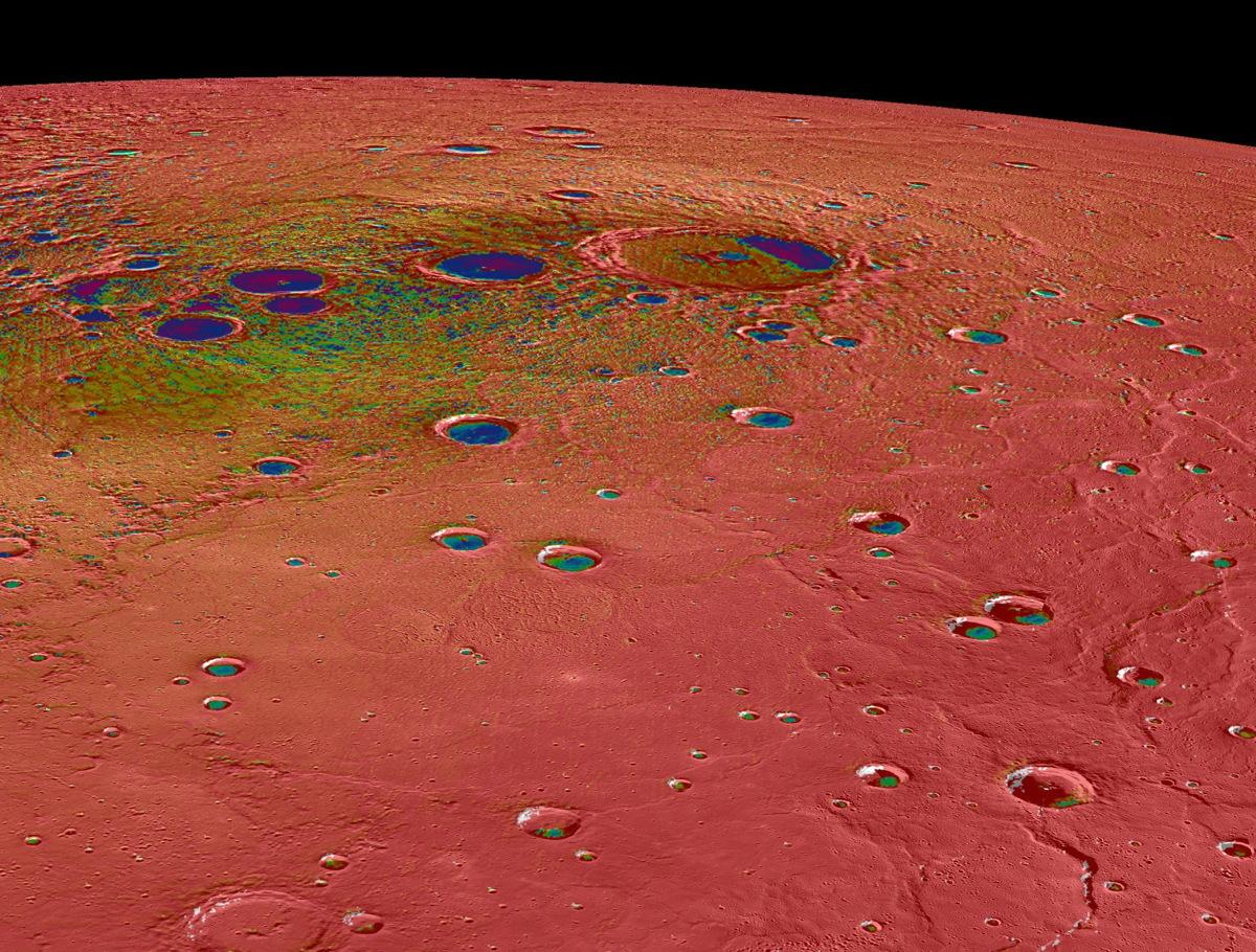 Mercury's North Polar Region