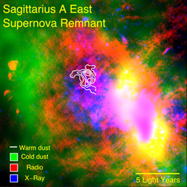 Supernovas Spawned Space Dust for Ancient Galaxies, Study Finds