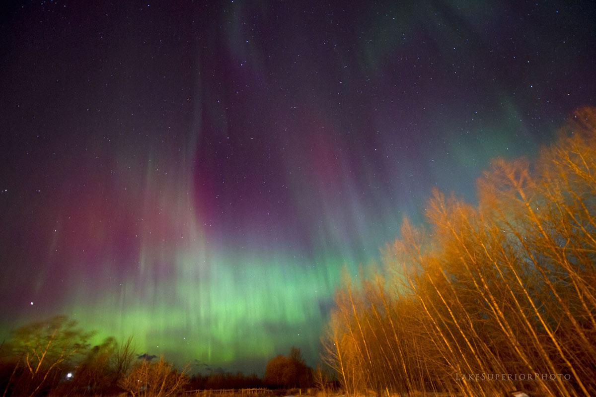 Aurora Over Northern Michigan