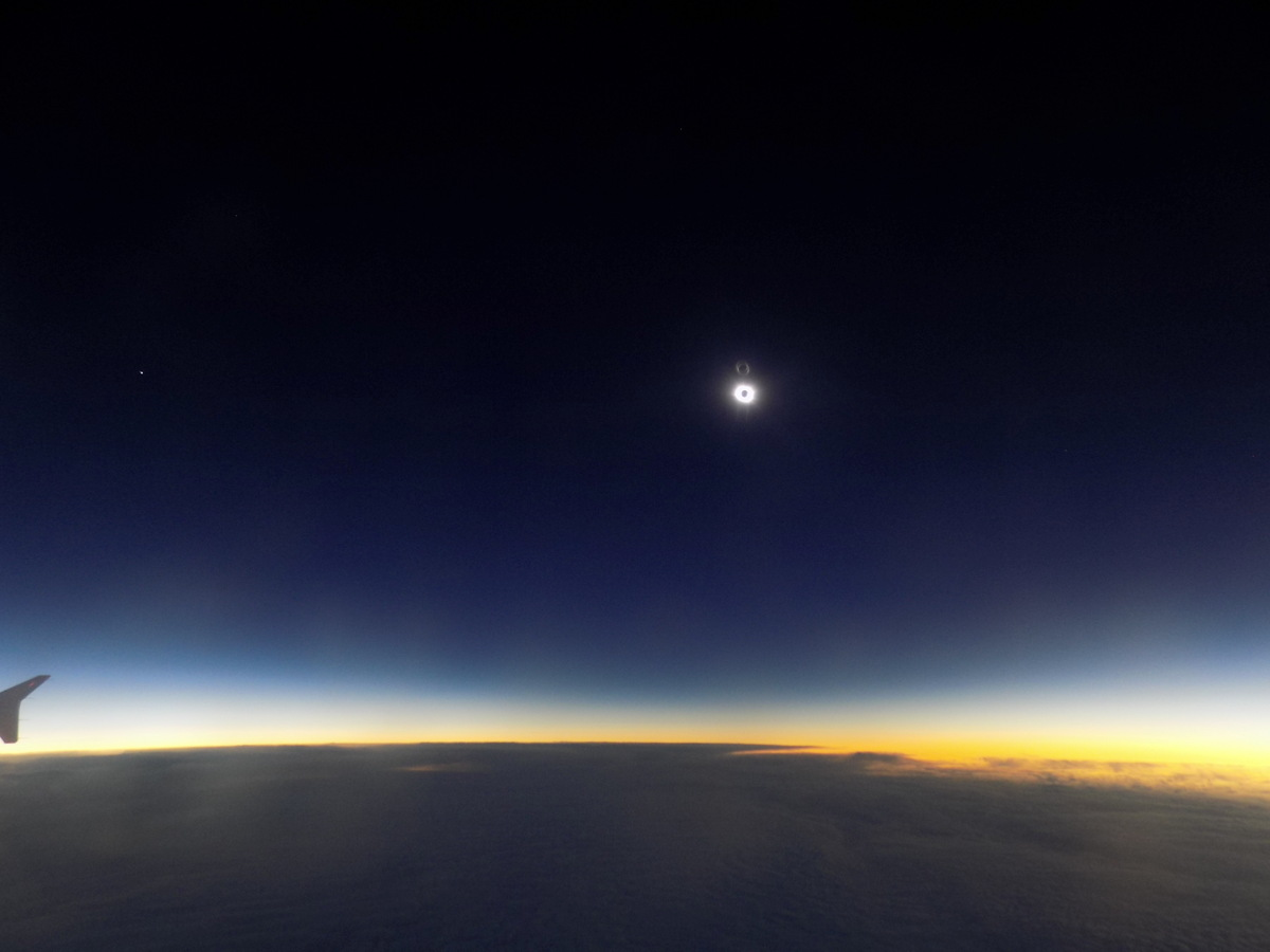 Flight to Totality: How I Chased the Total Solar Eclipse of 2015 on a Jet