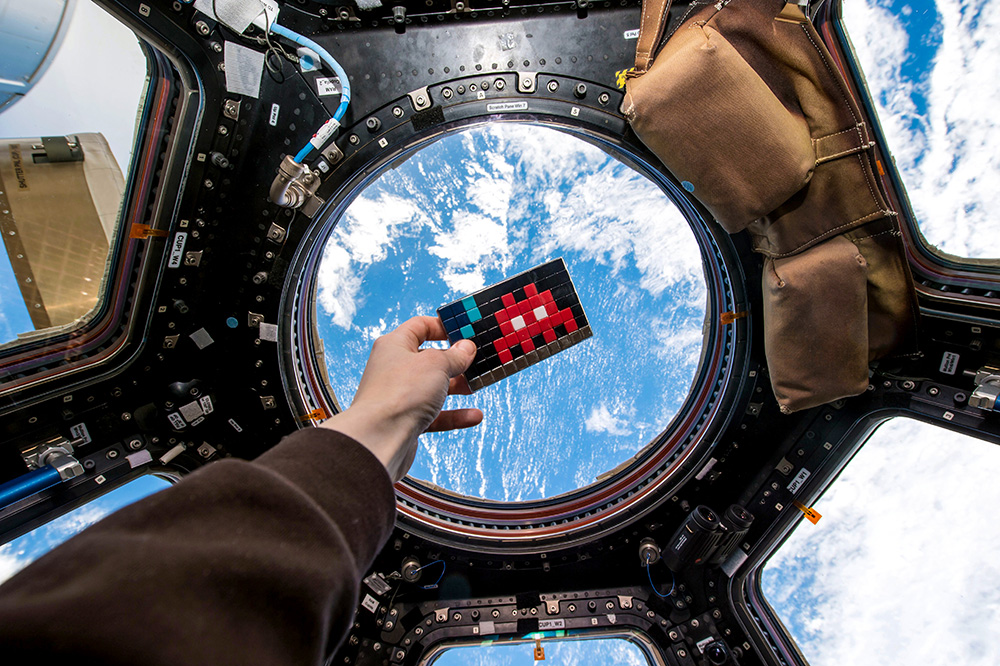 Photos: 'Space Invaders' on the International Space Station