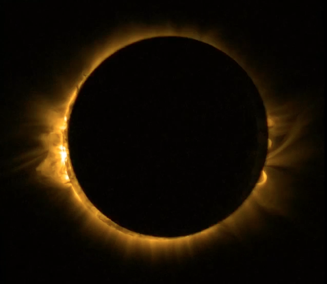 Total Solar Eclipse by Proba-2 on March 20, 2015
