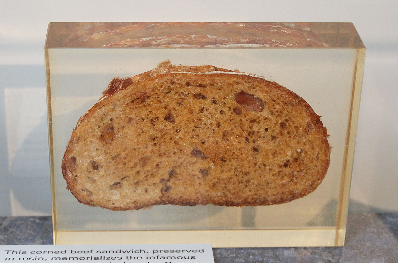 First (Contraband) Corned Beef Sandwich in Space 50 Years Ago