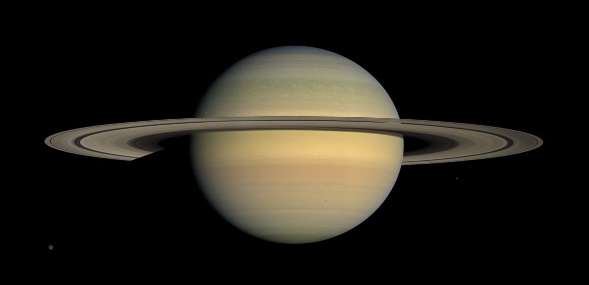 Length of Saturn's Day Measured Like Never Before