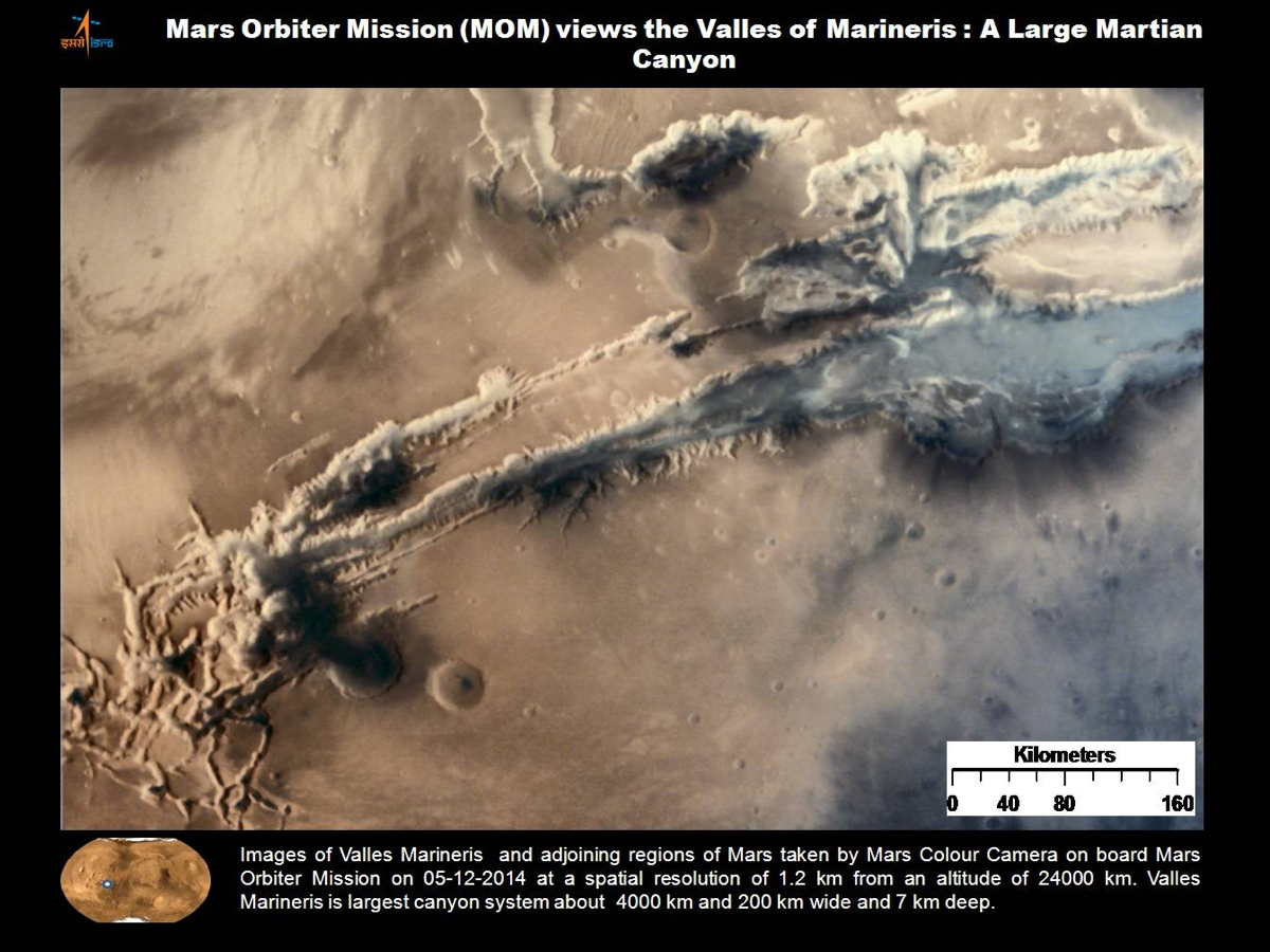 Valles Mariners Seen by MOM