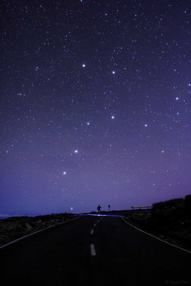 Big Dipper Seen in the Canary Islands