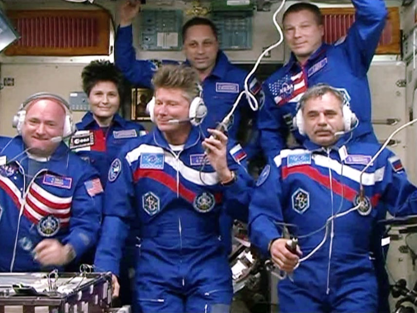 One-Year Crew Begins Epic Trip on International Space Station