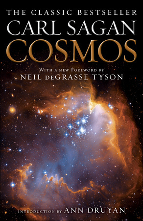 """Cosmos"" by Carl Sagan."