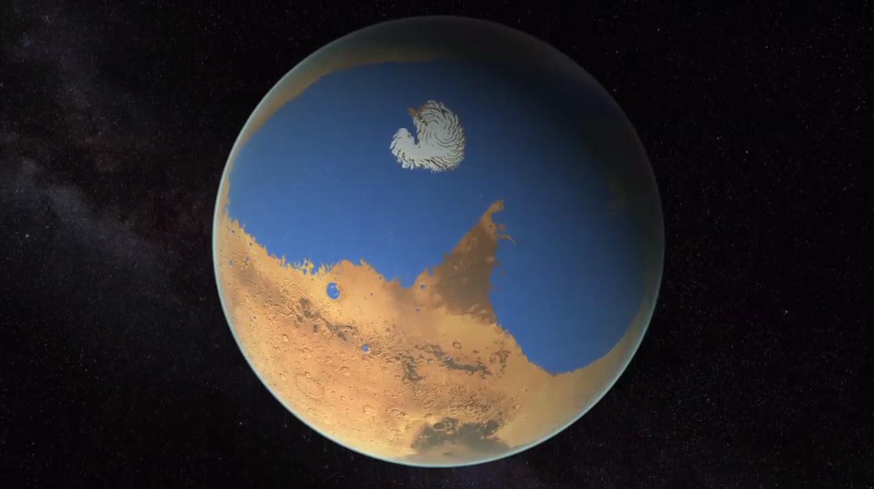 Ancient Mars Ocean