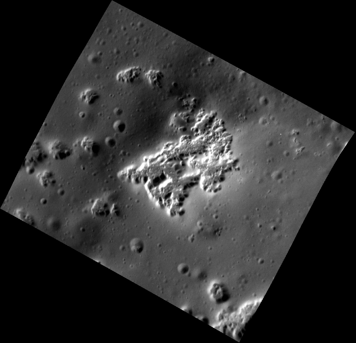Mercury Scarlatti Basin Hollows