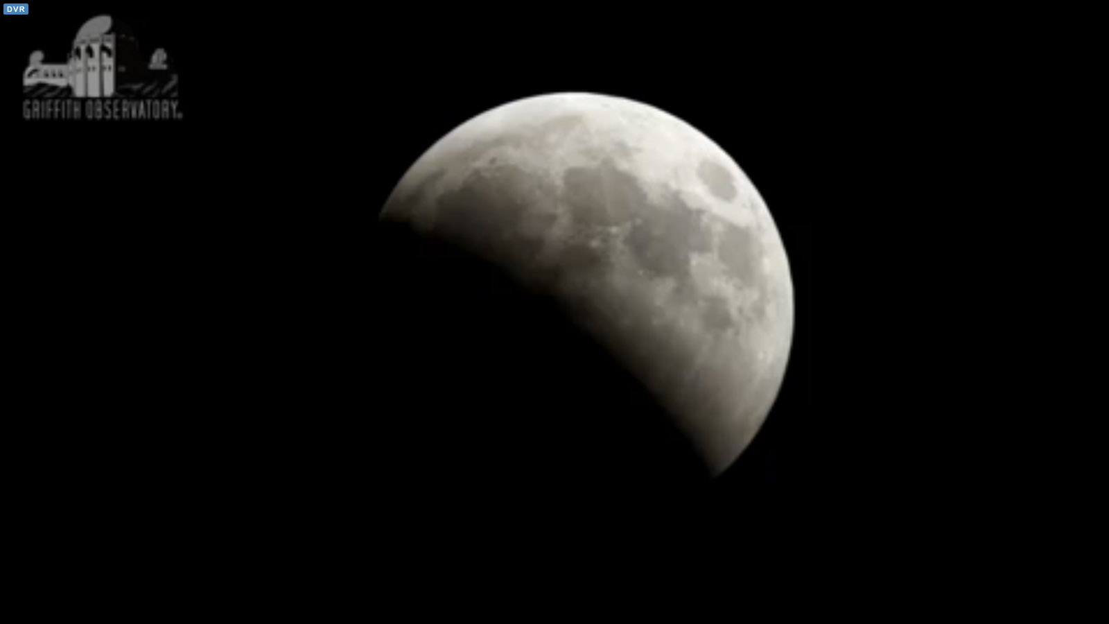 Half Lunar Eclipse: April 4, 2015 at Griffith