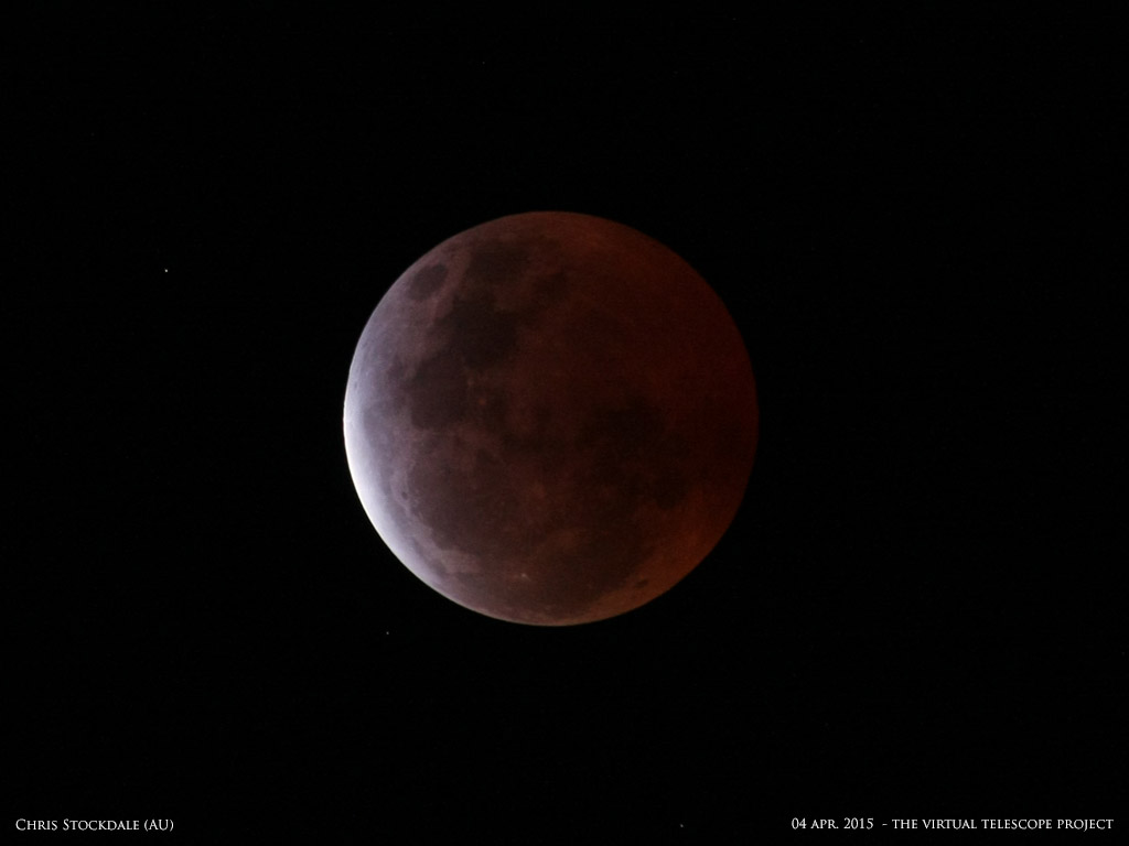 April 4 Lunar Eclipse: Chris Stockdale