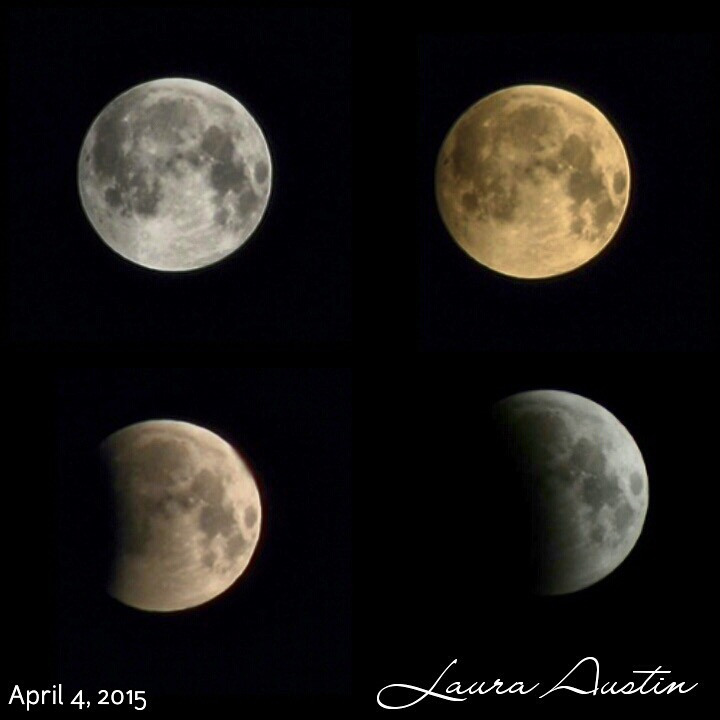 Partial Lunar Eclipse View from Ontario