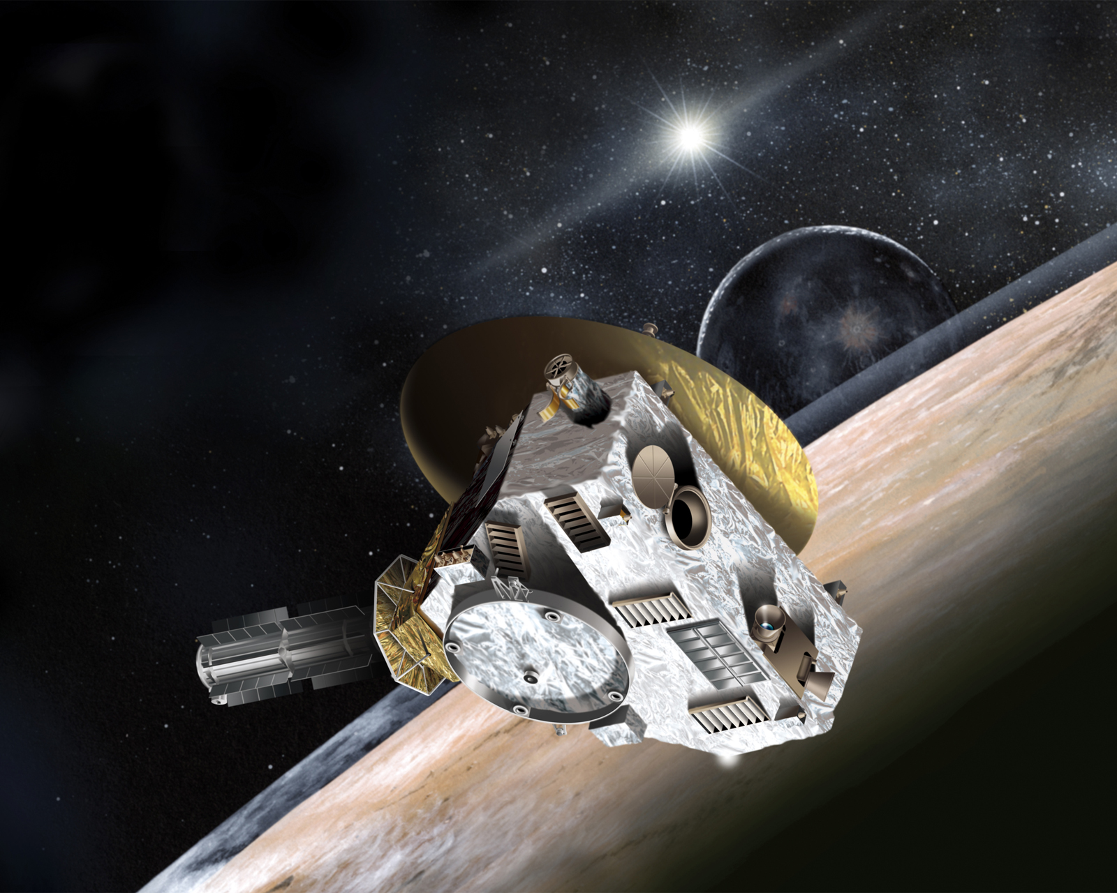 Pluto Weather Forecast: Probe Likely to Find It Gusty and Gassy