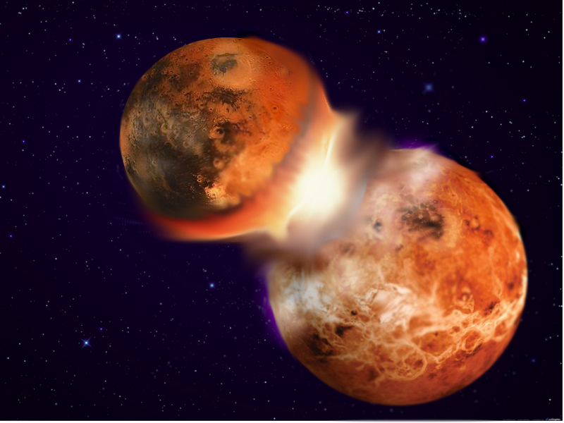 How the Moon Formed: Violent Cosmic Crash Theory Gets ...