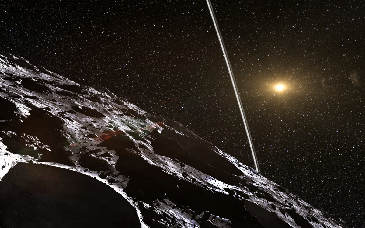 Weird Comet-Asteroid 'Centaur' May Have Rings