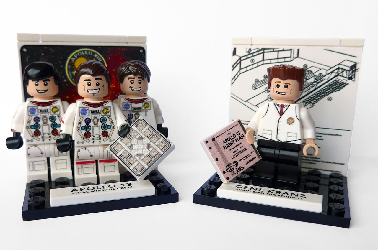 Apollo 13 Custom LEGO Minifigures