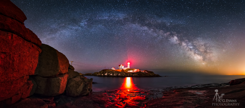 Milky Way Majesty in Maine Captivates Night Sky ...