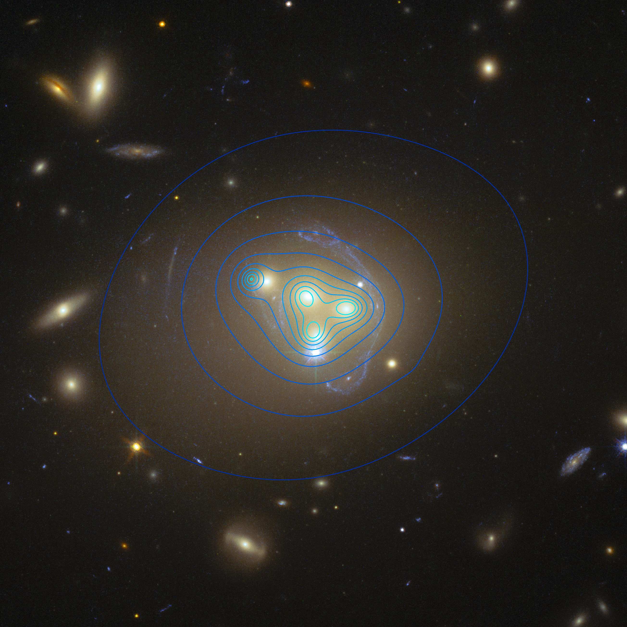 Dark Matter Can Interact With Itself, Galaxy Collisions Show