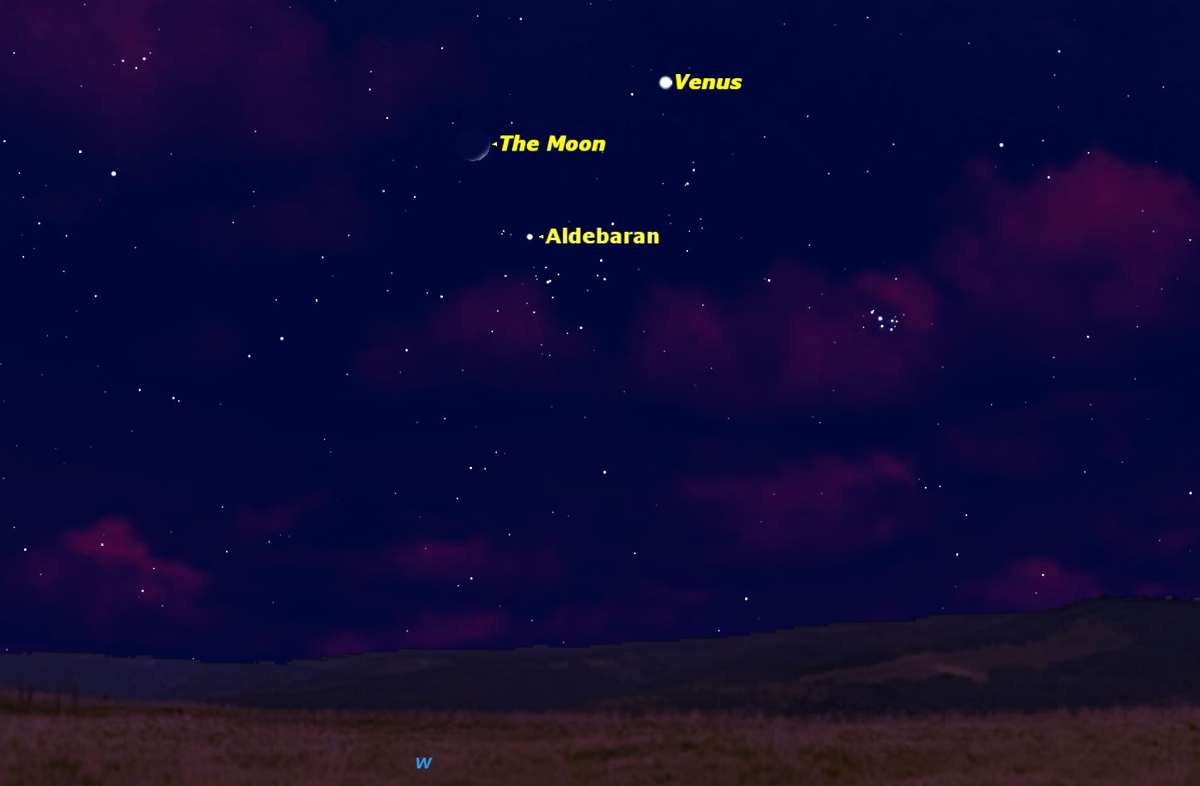 Brilliant Venus and Moon Shine Together Tonight: How to See It