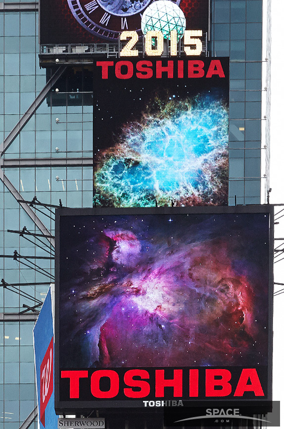 Orion Nebula in Times Square