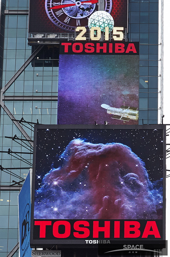 Horsehead Nebula in Times Square