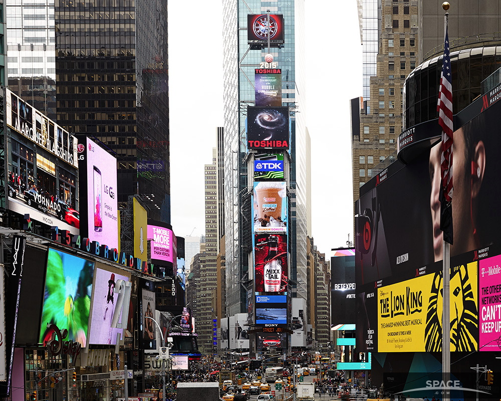 Arp 273 in Times Square