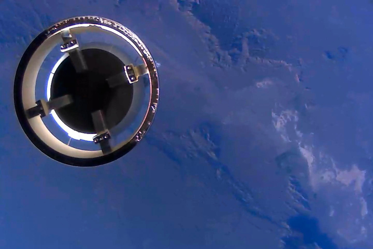 New Shepard Crew Capsule Ascending