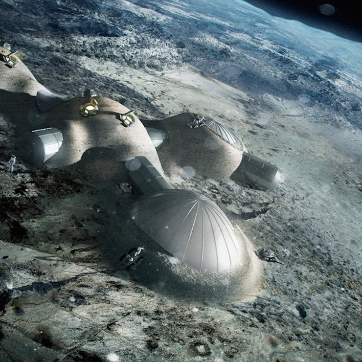 lunar colony in space - photo #22
