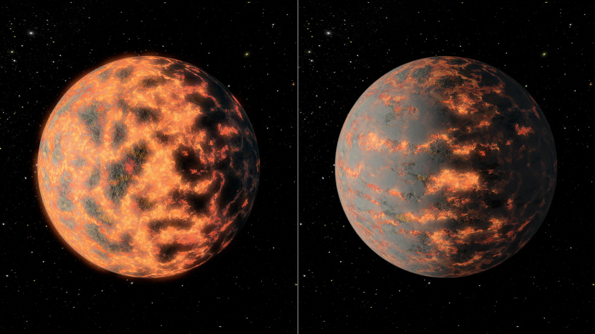 Alien Volcanoes on 'Super Earth' May Explain Wild Temperature Swings