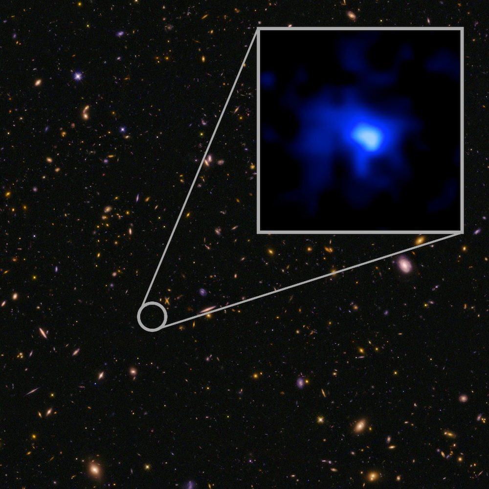 This Galaxy Far, Far Away Is the Farthest One Yet Found