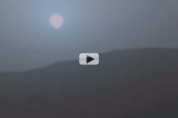 Martian Sunset Through Two Rovers' 'Eyes' | Video