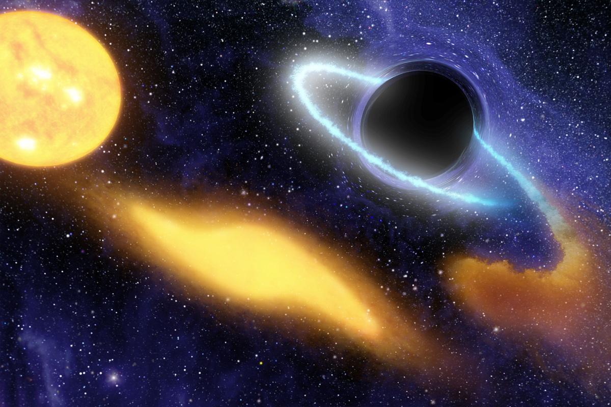 Black Holes Might Make Dark Matter Shine