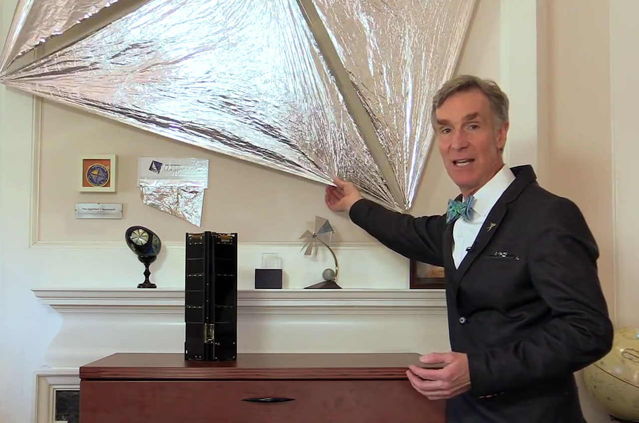 Bill Nye Launches Kickstarter to Push Solar Sailing Cubesat to Space