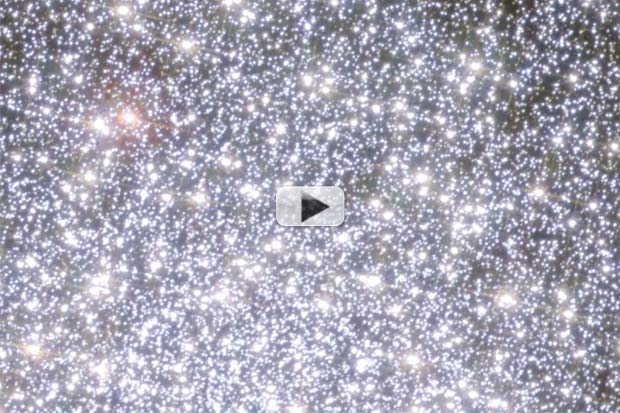 'Stellar Carcasses' On The Move - Globular Cluster Hubble Close-Up | Video