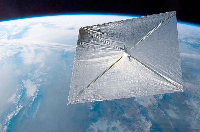 Tiny Solar Sail 'Cubesat' Launching with X-37B Space Plane on Wednesday