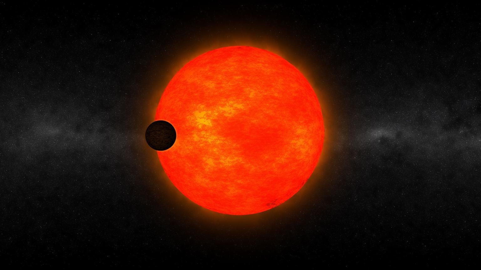 exoplanet landscape orbiting giant planet - photo #22
