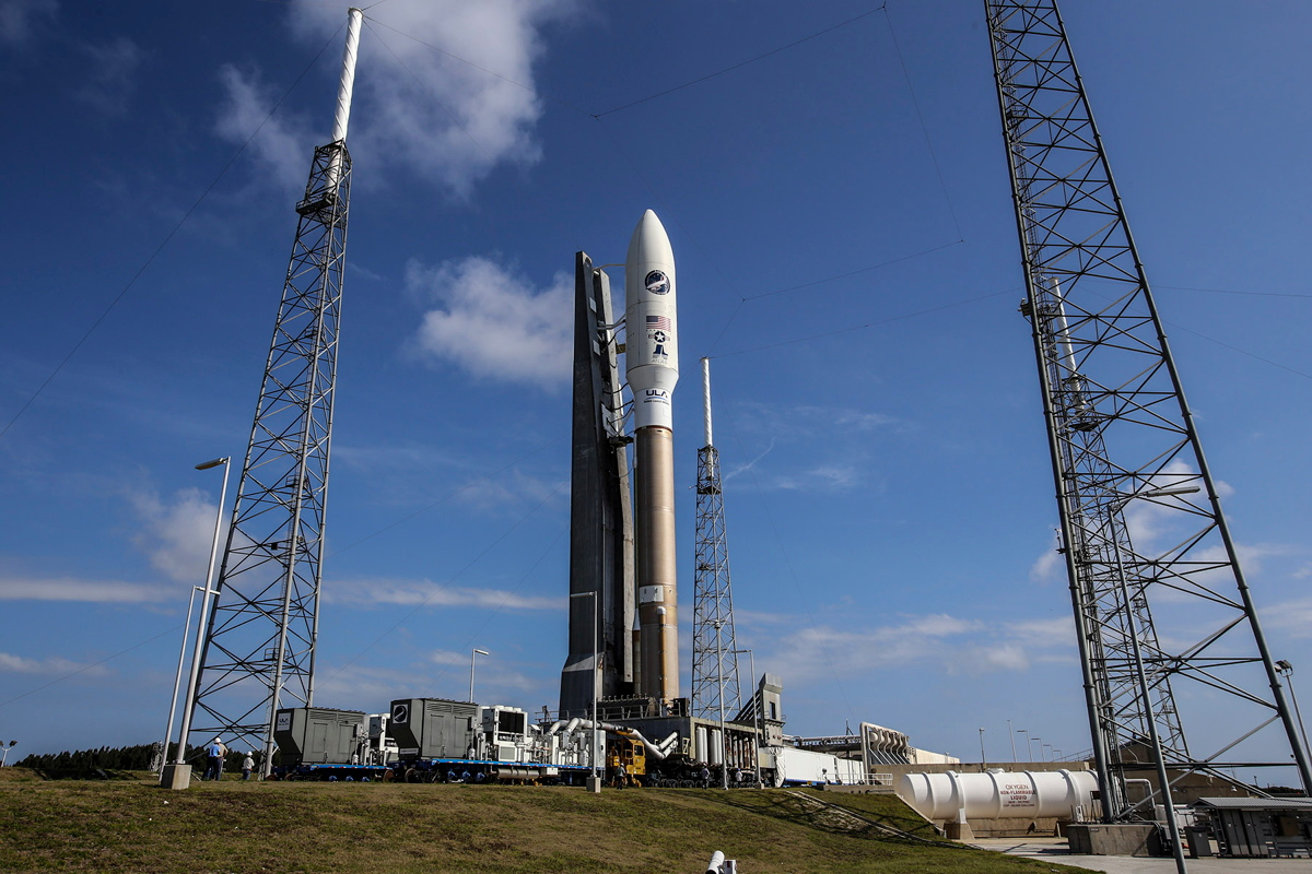 The U.S. Air Force's fourth X-37 space plane mystery mission will launch into space atop an Atlas V rocket on May 20, 2015 from Cape Canaveral Air Force Station. It is the fourth secret mission for the classified military space plane program.